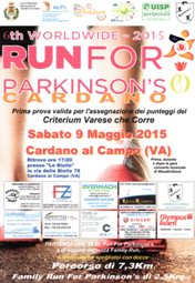 Run For Parkinson Cardano